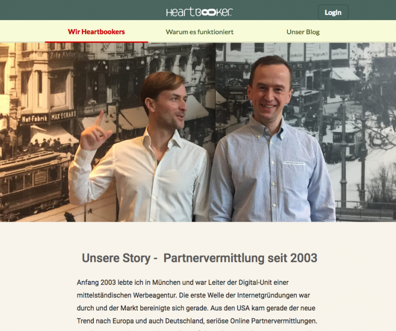 Partnervermittlung blog
